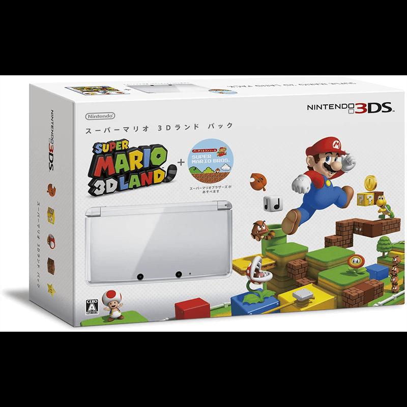 スーパーマリオ3Dランドパック(アイスホワイト)+Wii本体(クロ)(RVL-S-KAAH)