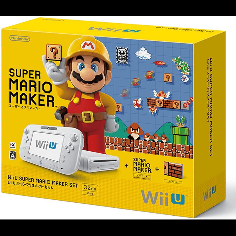 WiiUスーパーマリオメーカーセット